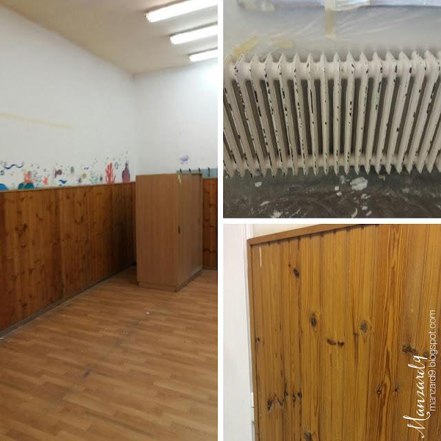 DIY tanterem felújítás - innét indulunk