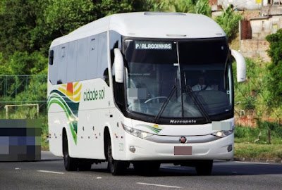 Criminosos assaltam ônibus que seguia para Inhambupe