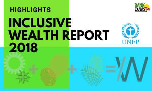 Inclusive Wealth Report 2018: Highlights