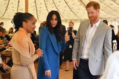 Prince Harry Hilariously Gets Caught Sneaking Samosas at Meghan Markle's Cookbook Event