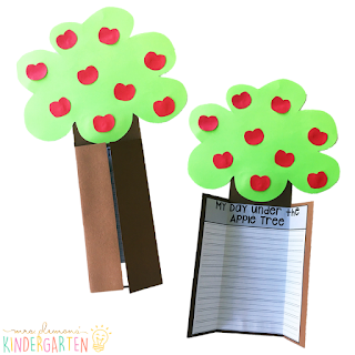 We love reading and learning about apples in our kindergarten classroom, but planning meaningful comprehension activities can be a challenge. This Apple: Read & Respond pack made it super easy to teach 5 comprehension skills for 5 of our favorite picture books. Students especially love the themed crafts and writing prompts too!