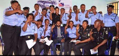 Policemen And Women Benefit From Helping Hands International Concept's Skill Acqusition Programme