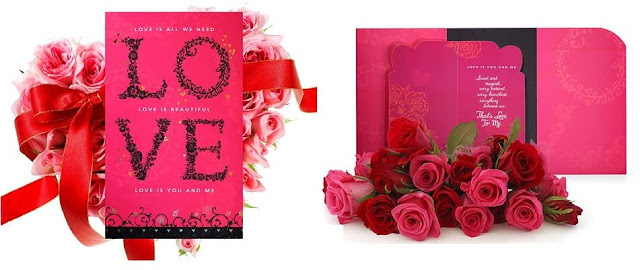 Mr and Mrs Valentine by Archies Rose Shoppe Sector 119, Noida
