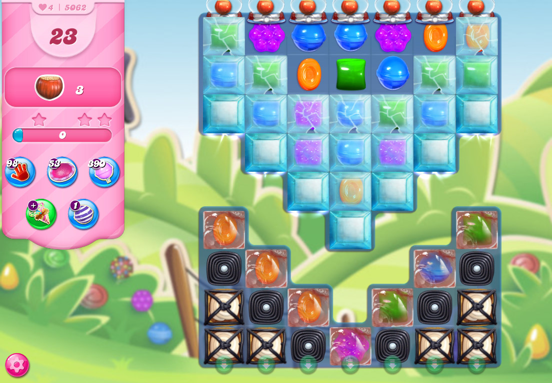 Candy Crush Saga level 5062