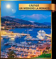 Castiga un weekend la Monaco pentru 2 persoane