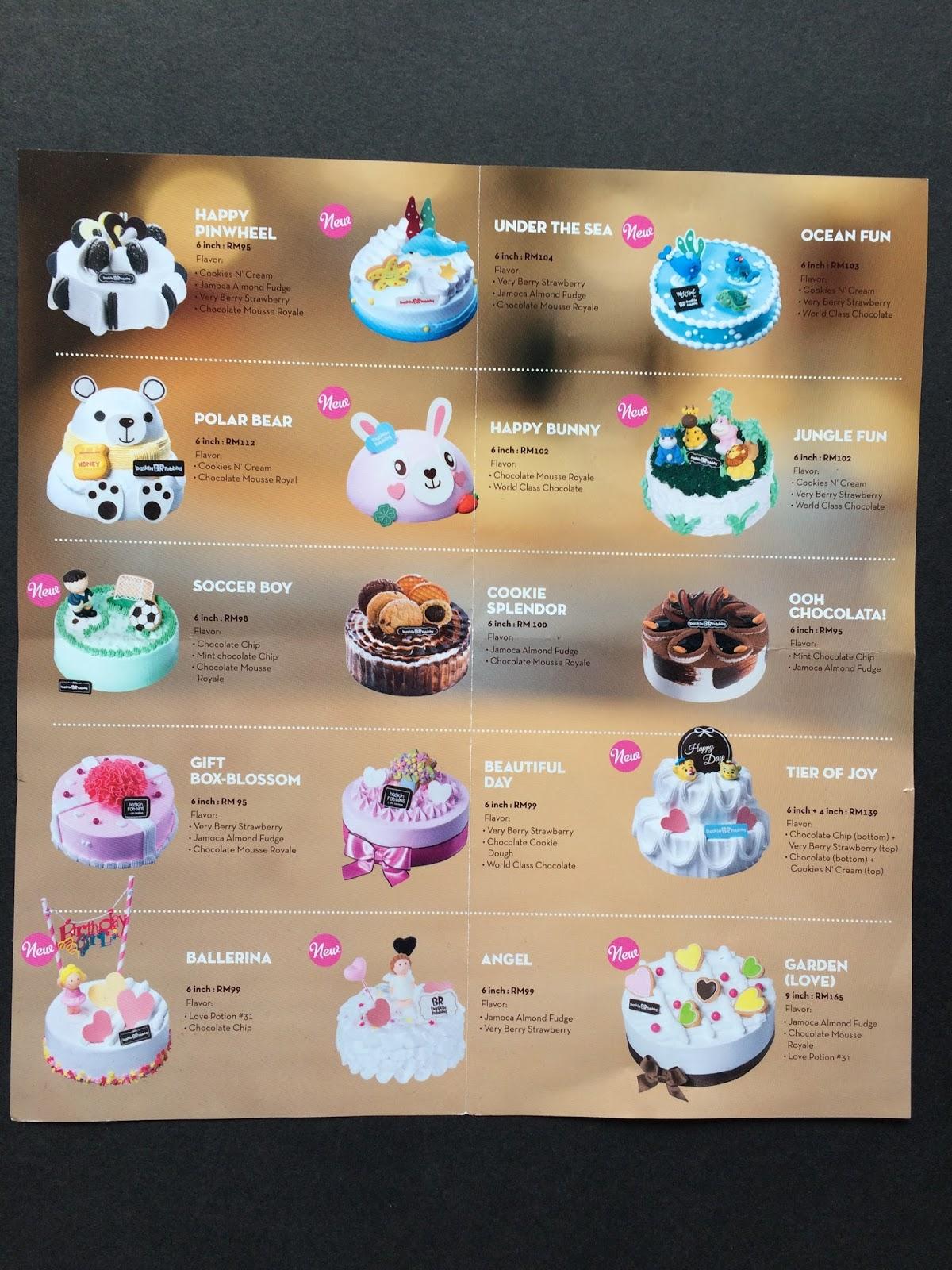Cake Brochure Design