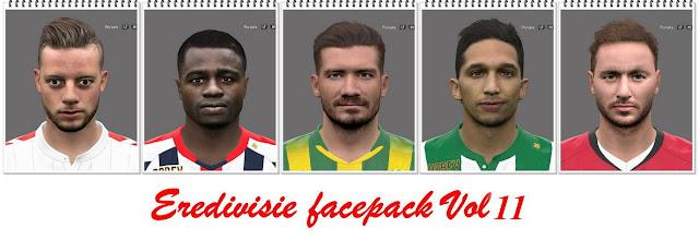 PES 2016 Eredivisie Facepack