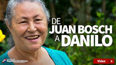 VIDEO: De Juan Bosch a Danilo
