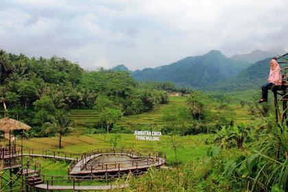 Ada jembatan cinta di Desa Wisata Panusupan Purbalingga