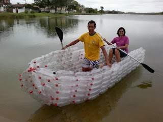 Barco de Pet - upcycle