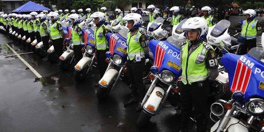 800 Polisi Atur Lalu Lintas Saat Upacara HUT RI Ke-69 Di Istana