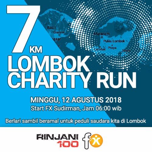 7K Lombok Charity Run • 2018