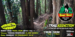 Bukit Besi Trail Run 2019 - 24 February 2019