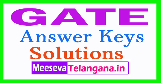 GATE Answer Keys With Solutions for All Branches  Download