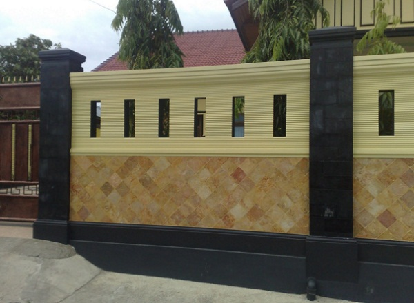 Model Desain Pagar Tembok Rumah Minimalis Terbaru dan Terlengkap Model Desain Pagar Tembok Rumah Minimalis Terbaru dan Terlengkap