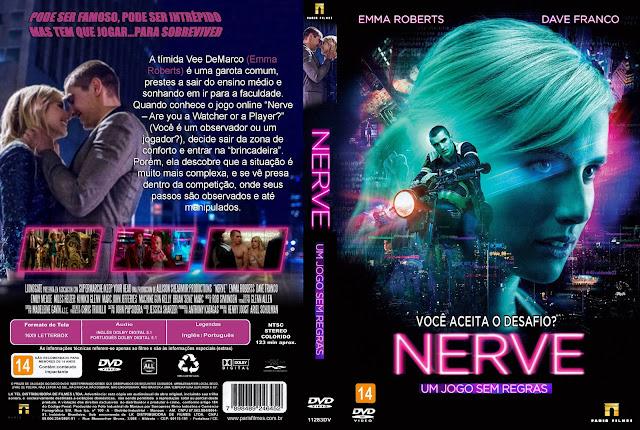 Capa DVD Nerve Um Jogo Sem Regras