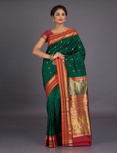 Pure Silk Bangalore Saree