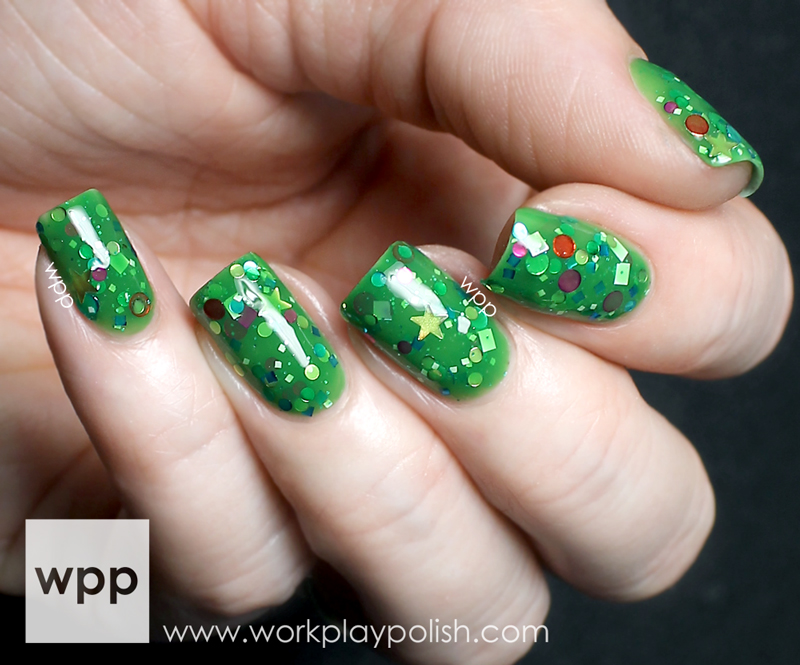 KBShimmer Crystal's Crazy Combos Christmas Now