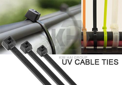 dây rút nhựa đen sử dụng ngoài trời cản UV