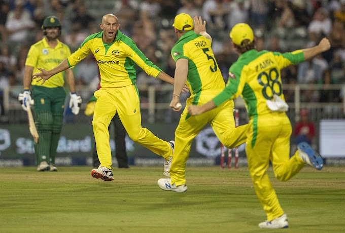 South Africa vs Australia 1st T20I 2020 Scorecard,Pics AUS v SA Highlights Playing 11 Johannesburg