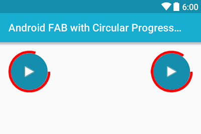 Android Example: How to Add Circular Progress Indicator with Floating Action Button