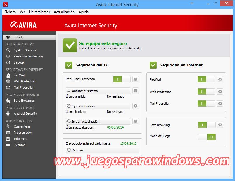 Avira Internet Security v14.0.4.642 Full PC ESPAÑOL 9