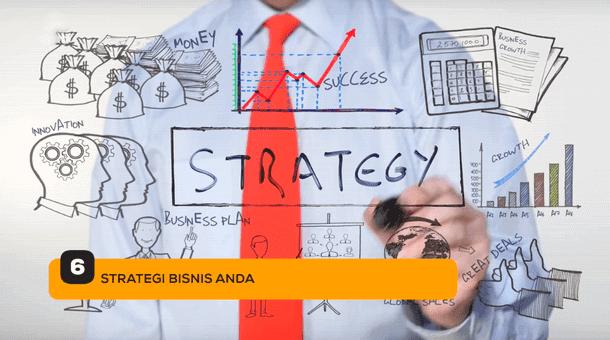 6. Strategi Bisnis Anda