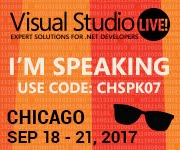 Visual Studio LIVE! Chicago