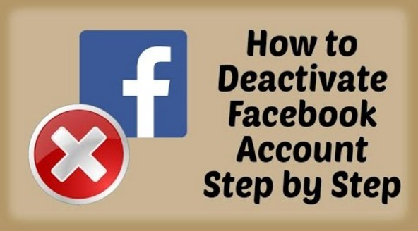 Steps to Deactivate Facebook Account