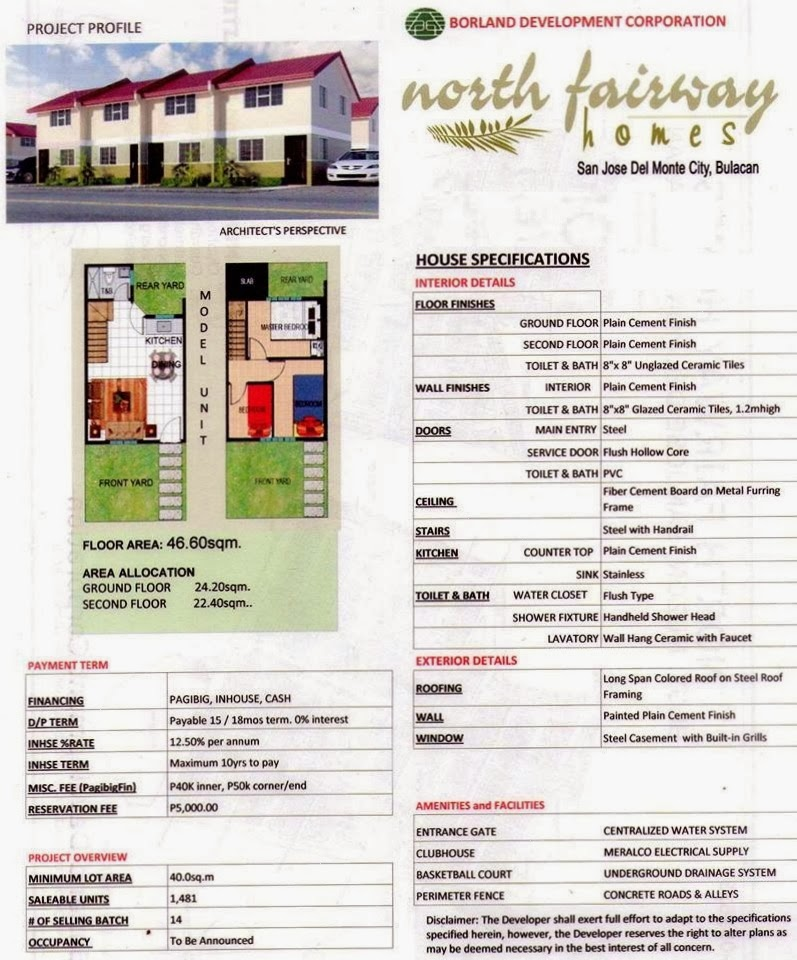 Pag Ibig Rent To Own House Amp Lot Condo 3 729 Month Rent