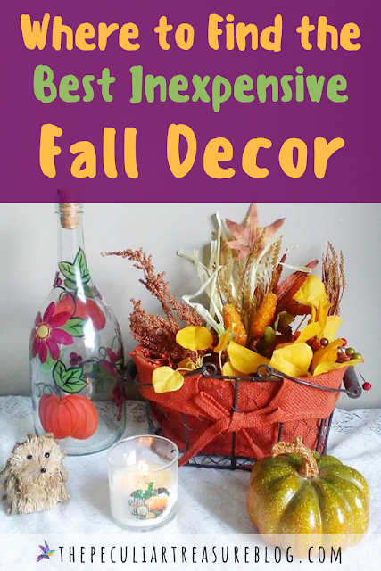 Where to find pretty, cheap Fall Decor. #Fall #decor #home