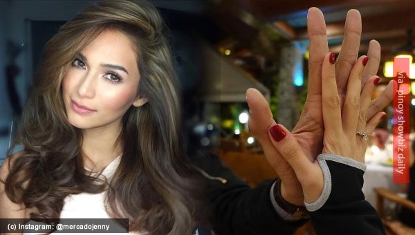 Is Jennylyn Mercado engaged to Dennis Trillo?