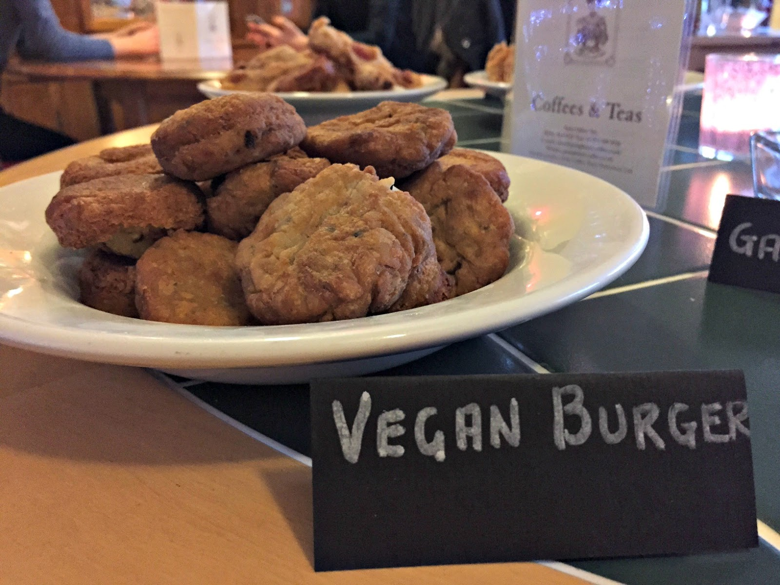 Vegan Burgers at Super Natural Newcastle