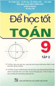 Để Học Tốt Toán 9 Tập 2 - Lê Hồng Đức