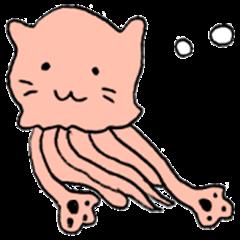 Jelly Fish Cat