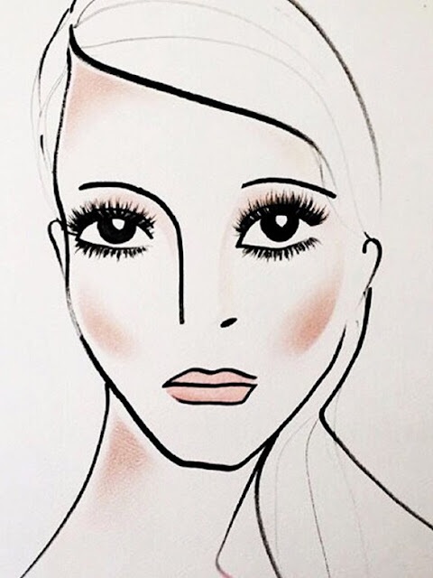 Marc Jacobs Beauty - Face Chart