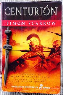 Portada del libro Centurión, de Simon Scarrow