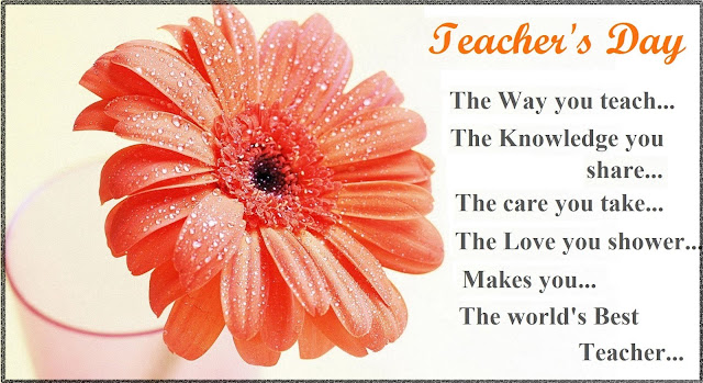 Teacher Day Quotes