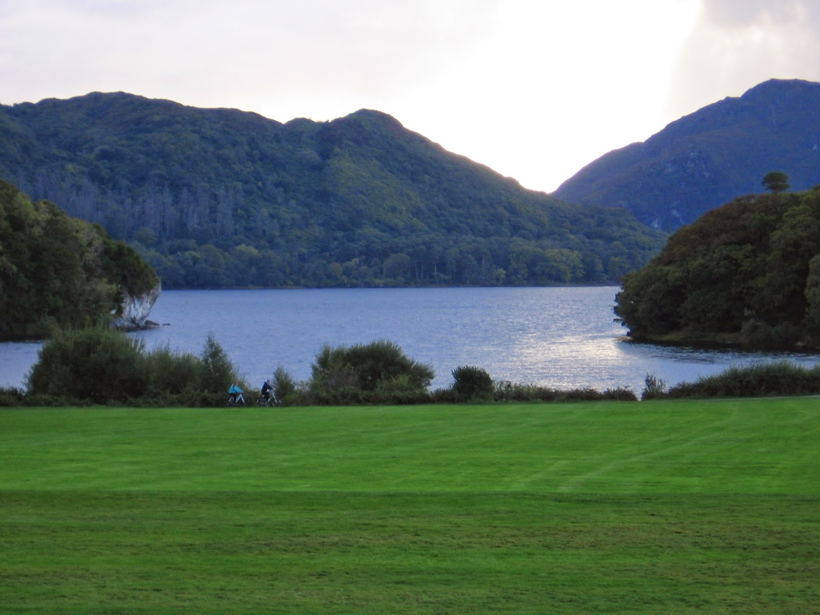 View at Muckross House in the Killarney National Park in County Kerry Ireland