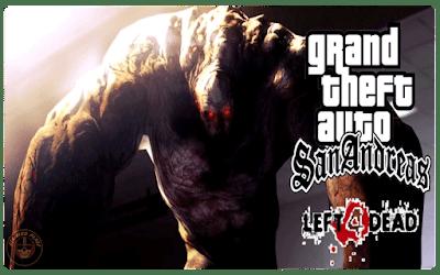 GTA San Andreas Left 4 Dead Zombie Mod Download