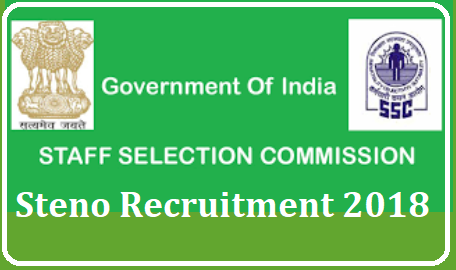 SSC Staff Selection Commission Steno Recruitment Notification 2018 Staff Selection Commission posted Good news for the Govt Job Aspirants with low Educational Qualifications. SSC has posted Steno Recruitment Notification with 10+2 Qualifications at Various central Govt Departments and attached sectors. Complete Schedule for the Staff Selection Commission Steno Recruitment Notification 2018 Vizzz Educational Qualifications Eligibility criteria Applying Online Download of Hall Tickets Exam Dates Examination centres you may find in detailed Notification issued by SSC. You can download the SSC Staff Selection Commission Steno Recruitment 2018 Detailed Notification here under ssc-staff-selection-commission-steno-recruitment-notificatoin-details-Apply-Online-ssc.nic.in /2018/10/ssc-staff-selection-commission-steno-recruitment-notificatoin-details-Apply-Online-ssc.nic.in.html