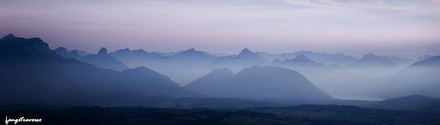 alpes, alps, france, suisse, genève, salève, haute-savoie, rhone-alpes, chaîne du mont-blanc, sunset