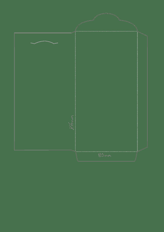 Plantillas para hacer sobres - Dibujos de Colores