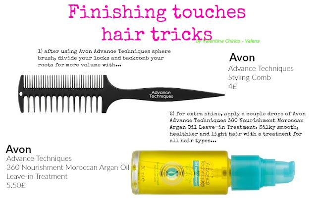 Tips shiny hydrated hair Avon Advance Techniques adding volume