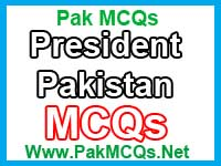 president of pakistan, pak study mcqs, current president of pakistan mcqs, political science mcqs