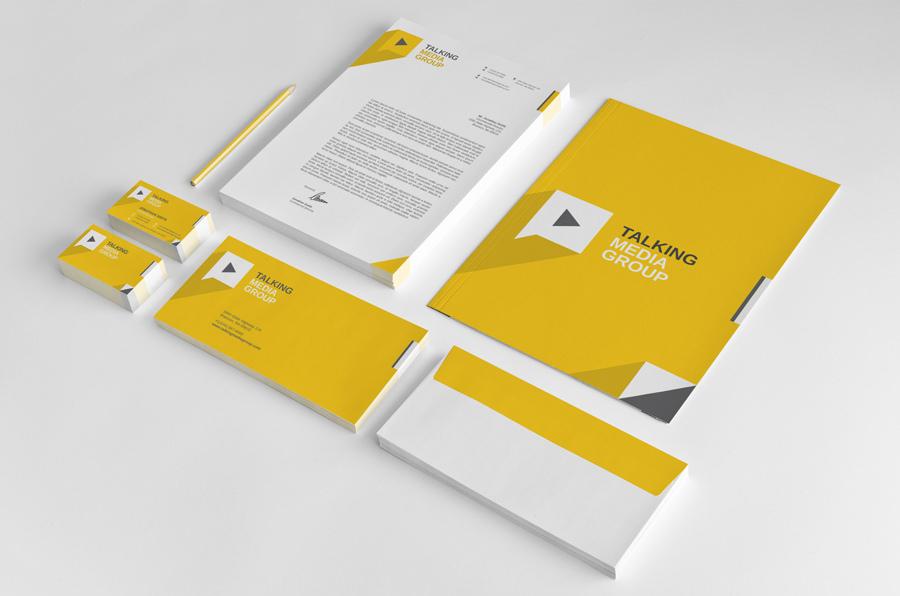 Thiết kế in ấn tiêu đề thư đẹp giá rẻ tại Hà Nội TalkingMedia