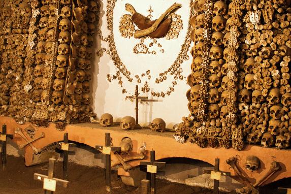 crypts, bones & catacombs italy