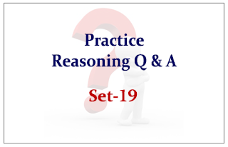 SBI PO Exam- Practice Reasoning Questions