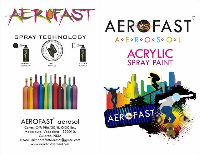 AEROFAST AEROSOL - 8758763344 ACRYLIC SPRAY PAINT
