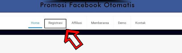 Premium Robot Promosi Facebook